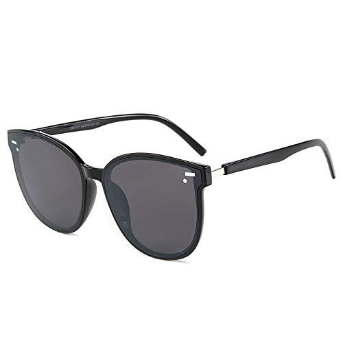 YQSBYI 2021 moda fresco estilo redondo gradiente gafas de sol hombres/Momen marca diseño conducción barato vintage gafas de sol (Goggle, NO3)