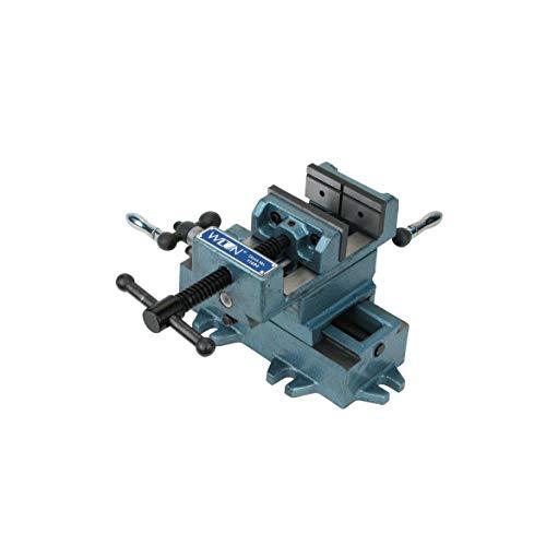 Drill Press Vise, Cross Slide, 4 in