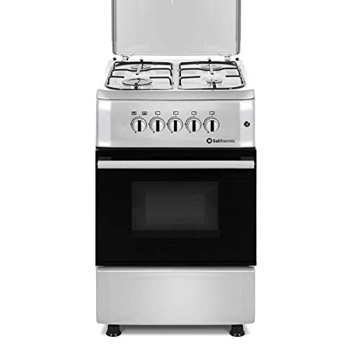 SOLTHERMIC COCINA F5S40G2I INOX