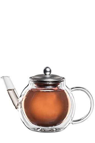 bloomix Teekanne Aronia 700 ml, doppelwandige Thermo-Teekanne