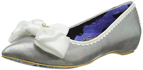 Top 10 best selling list for irregular choice silver flat shoes