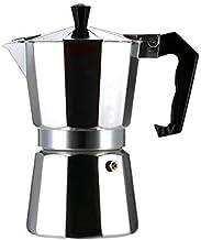إبريق صنع قهوة الإسبرسو بدون سلك H18577 فضي