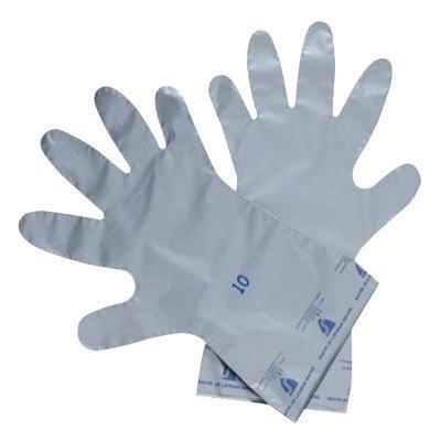 Norte por Honeywell tamaño 7gris plata escudo 4H 141/2'2,7de polietileno y vinilo de etileno Alcohol ambidextro químicos resistente al guantes con acabado suave y recto puño
