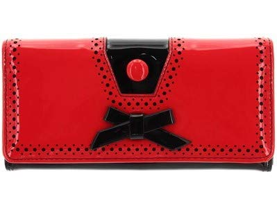 Banned Rosemary Geldbörse Rockabilly Retro Retro Vintage Style Geldbörse - Rot