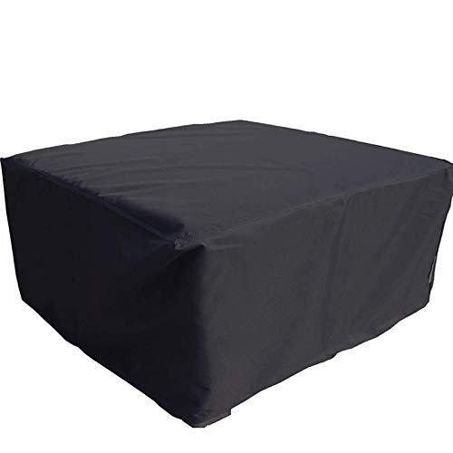 COUYY 210d Oxford Paño Cubierta de Muebles de Exterior jardín a Prueba de Polvo y Cubierta Impermeable Mesa de jardín de Bosque y Cubierta de Silla,200 * 200 * 74cm