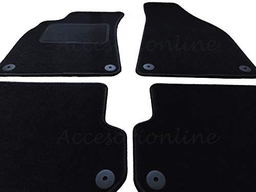 Accesorionline Alfombrillas para Audi A4 (2000-2008) a