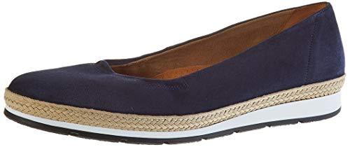 Gabor Shoes Damen Comfort Sport Geschlossene Ballerinas, Blau (Marine(Jute/Blurossoblurosso/W) 36), 40.5 EU