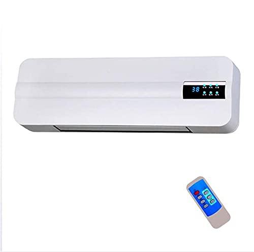 YXZN Riscaldatore da Bagno con condizionatore da Parete da 2000 W con Telecomando e Timer - Smart Display LCD HD - Ventola per Aria condizionata Calda e Fredda a Doppio Uso