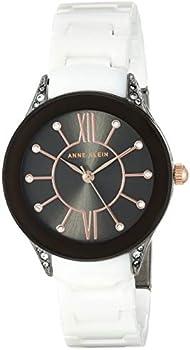 Anne Klein Gunmetal Dial Ladies Watch