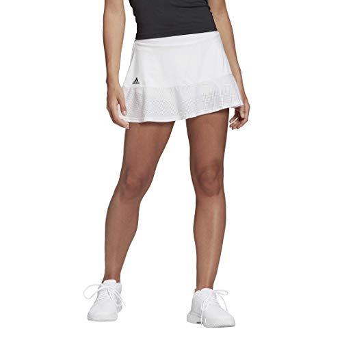 adidas Women's Tennis Match Skirt White Large