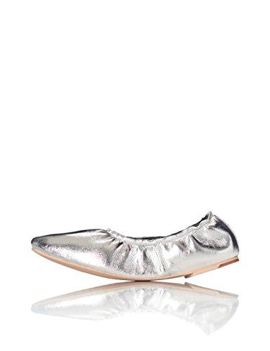 Marca Amazon - find. Bailarinas con elástico para Mujer