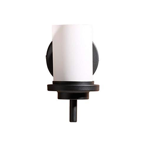 YLCJ wandlamp wandlamp wandlamp wandlamp Amerikaanse wandlamp woonkamer hal badkamer douchekop enkele kop bedlampje smeedijzer