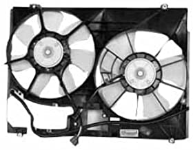 TYC 621600 Toyota Sienna Replacement Radiator/Condenser Cooling Fan Assembly