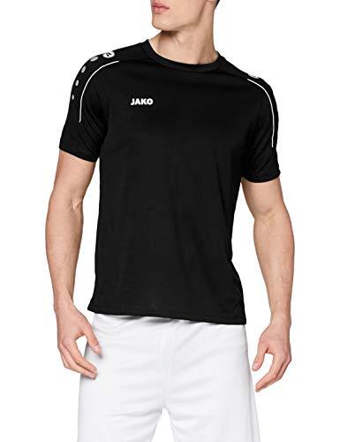 JAKO Herren T-shirt Classico, schwarz, 4XL, 6150
