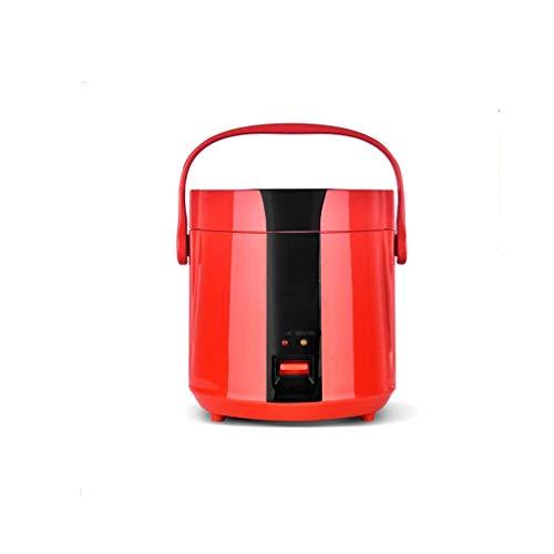 Kleine Elektroherd, Hot Pot mit Stahl Gesunde Inner Topf leicht zu reinigen Heizung Beweglicher Hauptküchengerät (Farbe: Orange) (Farbe: blau) lalay (Color : Red)