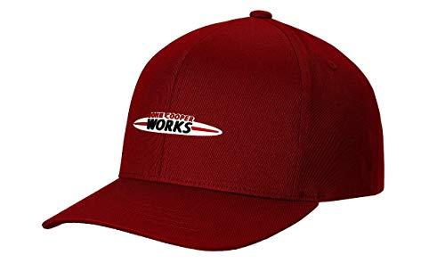 Mini JCW Cap Kappe rot John Cooper Works Logo Mütze Basecap/Rot