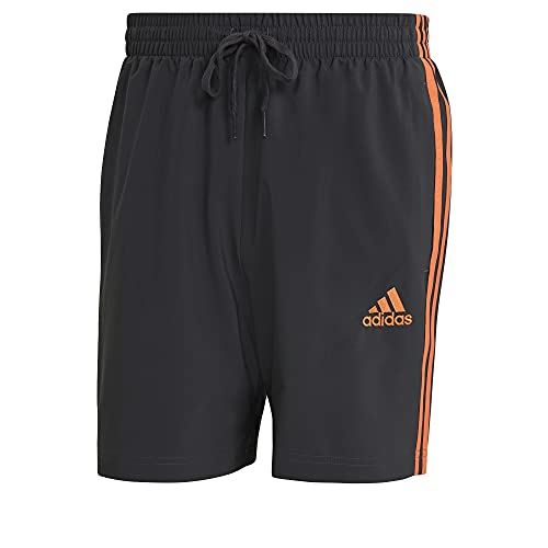 adidas M 3s Chelsea - Shorts für Herren, Herren, Kurze Hose, GL0056, Grpudg/Naraut, M