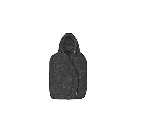 Maxi-Cosi kuschelig warmer Fußsack, passend für alle Maxi-Cosi Babyschalen, nomad black