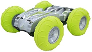Mytoys 0921 Remote Control 27MHz 2WD Stunt Car for Dessert Snowfield Land Lake Terrain Vehicle Model Children Toy