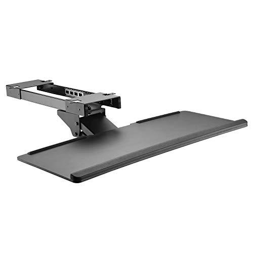 Allcam KBTUD02 Ergonomic Underdesk Keyboard Tray Shelf w/Wrist Rest,...