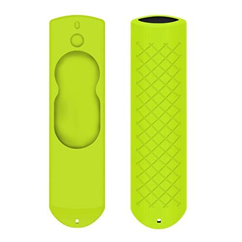 Colorful Schutzhülle für Fire TV Stick mit Alexa-Sprachfernbedienung (5.9 inch), Stoßfest Silicone Hülle für Fire TV Stick Voice Remote (Grün)