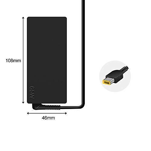 WHSTELENI 20V 3.25A 65W Laptop Netzteil Ladekabel Ladegerät Lenovo für Thinkpad X1 Carbon (Gen2/3/4) T440 T440s T450 T450s T460 T460s T470 T470s X240 X250 X260 X270 Z50 Z51 Z70 Flex 14 15 Yoga 11 11S