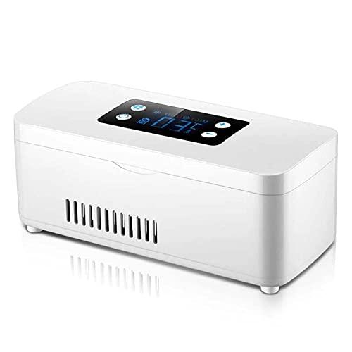 Mini refrigerador portátil, refrigerador doméstico pequeño, enfriador de insulina, estuche de viaje, enfriador de medicamentos médicos adecuado, para pacientes diabéticos