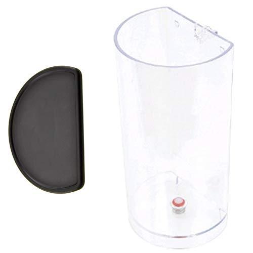 SPARES2GO 1L Water Tank + Deksel voor Krups Citiz & Melk Koffiemachine