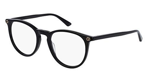 Gucci Brillengestelle GG00270-1-50 Rund Brillengestelle 50, Schwarz