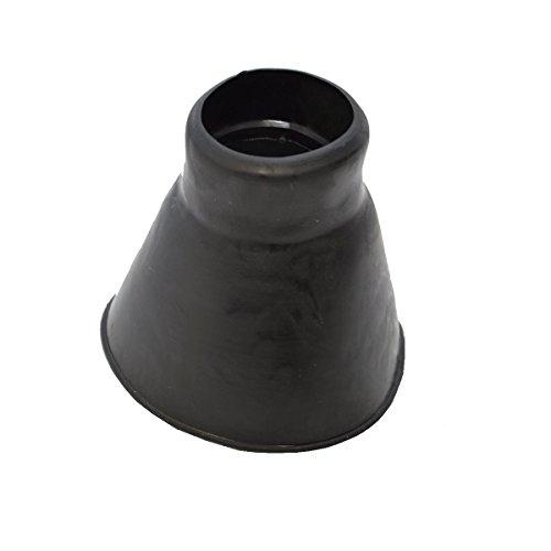 PremiumX Universal Gummimanschette für Dachabdeckungen Schwarz Klein