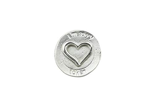 Anniversary Gifts I'm Sorry Love Token for You - Gift for Wife, Girlfriend Or Husband - Love Wallet Token