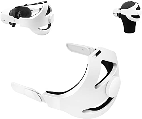 Oculus Quest 2 Elite Strap Replacement Adjustable Head Strap Headband Enhanced Support and Reduce Head Pressure in VR , Comfortable Protective Strap for Oculus Quest2