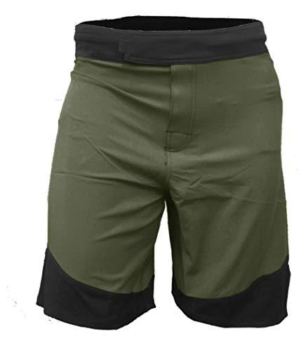 Epic MMA Gear WOD Shorts for Men Agility 3.0 (32, Army/Black)