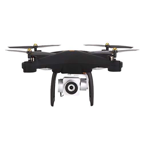 W-star Dual-Modus GPS-Kamera Positionierungsmodus, 2 Millionen Drohnen, App und Remote-WiFi, automatische Rückkehr, GPS-Tracking-Modus Drone RC Quadcopter, Schwarz