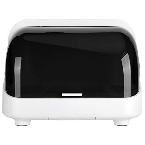 ZHC Escritorio Mini Gabinete UV Gabinete Ultravioleta Gabinete Sellado Vajilla Drenaje Rack Organizador de Cocina (Plástico)