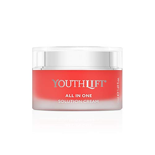 YOUTHLIFT All in One Solution Cream - Anti-Aging-Creme für Gesicht, Hals, Dekolleté - Sofort- & Langzeit-Effekt gegen Falten - Kosmetik, vegan - 50 ml