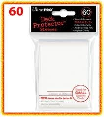 60 Bustine Protettive per Yu-Gi-Oh! Colore Bianco