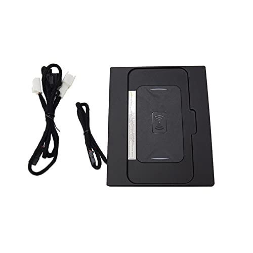 TRUSTTWO 1 5W 10W Qi Cargador DE TELÉFONO DE CUCHE INALÁMBRICO QU Fast Carga Pad Mat para iPhone FIT para Camry 2018-2021 Accesorios para automóviles (Color : Camry 2020)