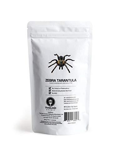 乾燥 タランチュラ Edible Dehydrated Zebra Tarantula 1匹 [並行輸入品]