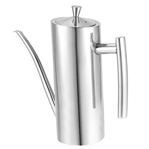 Atyhao 700ml Haushalts Edelstahlöl Dose Sojasauce Topfbehälter Küche Kochspender Werkzeug Ölspritzen Spender