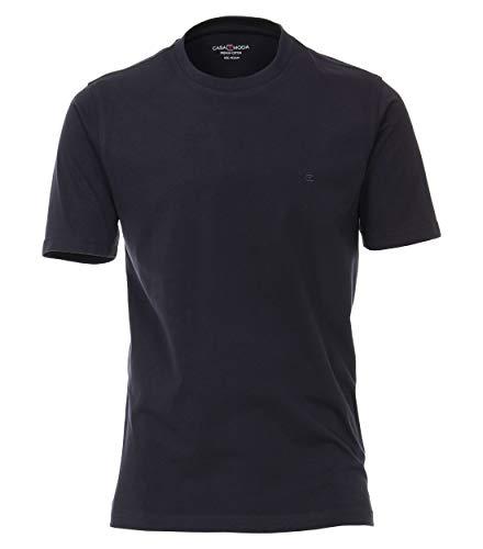 CASAMODA Herren 004200-105 T-Shirt, Blau (blau 105), Large (Herstellergröße: L)