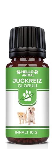 NEU: HelloAnimal JUCKREIZ Globuli für Hunde & Katzen bei Hautreizungen, pflegt Haut und Fell bei Läuse, Flöhe und Milben – mit Bachblüten informiert