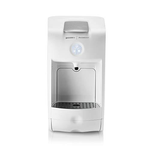 Guzzini Hausbrandt Coffee Project Macchina Per Caffè Espresso Infusi e Bevande Funzionante Con Capsule, Carlo Colombo, 30 x 16.5 x h29.5 Bianco
