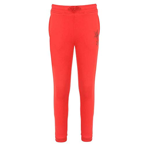 Gini & Jony Baby Girl's Regular fit Joggers (121246521622 C457_Fiery...