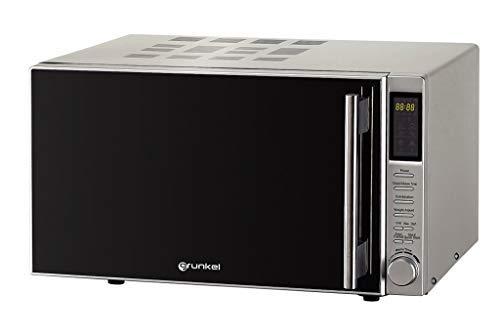 Grunkel MWG-30DG IXT Microondas, 900 W, 30 litros, Acero Inoxidable