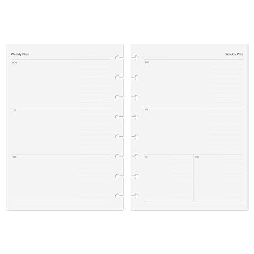 TOYANDONA Agenda Giornaliera 2021 Copertina in Morbida Pelle Pianificatore Accademico Calendario Planner Piano Notebook A5 Blu