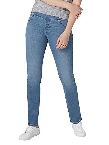 Lee - Pantalones vaqueros ajustados para mujer - Azul - 6 Largo
