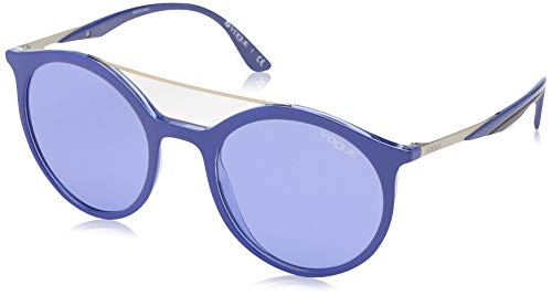 Ray-Ban 268176 Occhiali da Sole, Blu (Top Dk Blue/Violet Transparente), 50 Donna