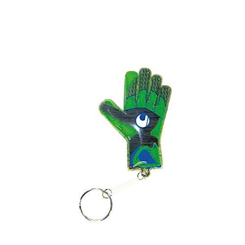 UHL Mini Glove TENSIONGREEN Herren Torwarthandschuhe Grau (Dark Grey Melange/neon gr)
