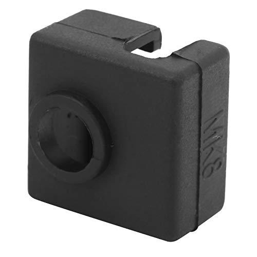 Bediffer Tapa de Bloque Calefactor 12 unids/Set Bloque Calefactor Caja de Bloque Calefactor Bloque Calefactor calcetín de Silicona Kit de Impresora 3D para Impresora 3D MK7 / 8/9
